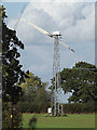 TM3568 : Wind Turbine at Boundary Farm by Adrian Cable