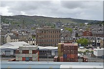 NS2776 : View over Greenock from P&O's Adonia, docked at the Ocean Terminal - 3 by Terry Robinson