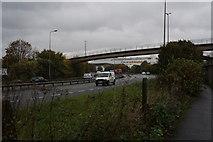 TA0827 : The A63, Clive Sullivan Way, Hull by Ian S
