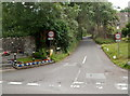 ST4968 : Width restriction along Church Town, Backwell by Jaggery