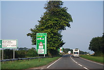 SN0202 : A477 near junction with A4975 by N Chadwick