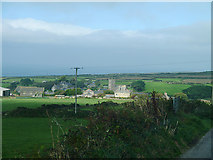 SW4538 : View of Zennor by Chris Gunns