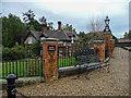 TF6628 : Station Approach, Wolferton, Norfolk by Christine Matthews