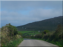 SW4538 : B3306 south of Zennor by Chris Gunns