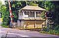 SK9804 : Ketton signalbox, 1998 by Ben Brooksbank