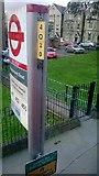 TQ3270 : Rockmount Road bus stop, SE19 by Christopher Hilton
