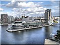 SJ8097 : Salford Quays, The Lowry Centre by David Dixon