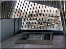 SJ8097 : Imperial War Museum North, The Air Shard Viewing Platform by David Dixon