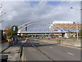 SK5438 : Bridge over the Ring Road by Alan Murray-Rust