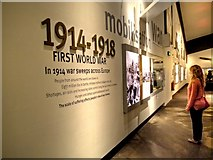 SJ8097 : World War I Timeline, Imperial War Museum North by David Dixon