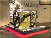 SJ8097 : First World War Field Gun, Imperial War Museum North by David Dixon