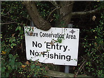 TM1336 : Conservation Sign by Keith Evans