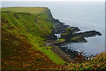 C9444 : Antrim Coast - Giant's Causeway - Southwest Side of Portnaboe  by Joseph Mischyshyn