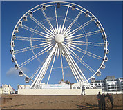 TQ3103 : Brighton Wheel by Simon Carey