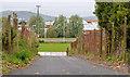 J3978 : Access road, Holywood by Albert Bridge