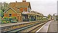 TQ3635 : Kingscote station, 1997 by Ben Brooksbank