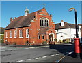 SO4593 : Church Stretton Methodist Church by Jaggery