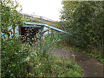TM1244 : Footpath & subway, at Sproughton by Geographer