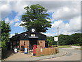 SP9300 : Village store, Hyde Heath by Peter S