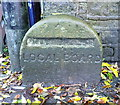 SE0813 : Local board boundary stone by Humphrey Bolton