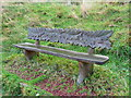 SE0511 : Seat on the Colne Valley Circular Walk by Humphrey Bolton