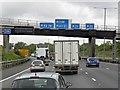 TQ0383 : Clockwise M25, Mansfield Farm Bridge by David Dixon