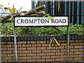 TM1445 : Compton Road sign by Adrian Cable