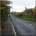 ST7291 : Road and railway in Charfield by Jaggery