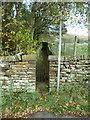 SE0410 : Gate on footpath off Binn Road by Humphrey Bolton