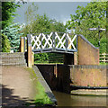 SP1870 : Canal bridge at Kingswood Junction, Warwickshire by Roger  Kidd