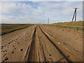 TA4214 : Replacement road, Spurn Head by Hugh Venables