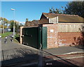 SO8440 : New Street flood gate, Upton-upon-Severn by Jaggery