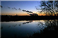 SK5233 : Twilight reflections on The Trent by David Lally