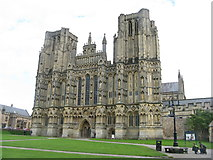 ST5545 : Wells Cathedral by M J Richardson