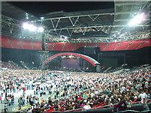 TQ1985 : Waiting for Coldplay - Wembley by Richard Humphrey