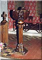 SO4046 : St Mary, Yazor - Lectern by John Salmon