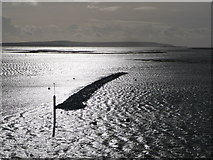 SZ3394 : Lymington: the new breakwater at high tide by Chris Downer