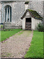 TL3653 : Great Eversden: St Mary - north porch by John Sutton