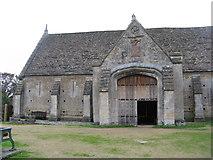 ST5038 : Glastonbury Abbey Barn by M J Richardson