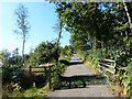 SK4613 : Access road to the summit of Bardon Hill by Mat Fascione