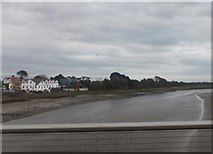 SD3641 : The River Wyre by Barbara Carr