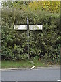 TM4288 : Roadsign on the A145 London Road by Adrian Cable