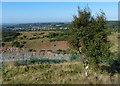 SK4513 : View from Bardon Hill towards Agar Nook by Mat Fascione