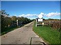 SP4611 : Road to Cassington sewage treatment works by Des Blenkinsopp