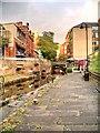 SJ8497 : Rochdale Canal, Lock 87, The Village Quarter by David Dixon