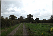 TM3669 : Entrance of Sibton Mill by Geographer