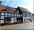 SO8540 : Black and white houses in Old Street, Upton-upon-Severn by Jaggery