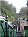 SS7249 : Lynton & Lynmouth Cliff Railway by M J Richardson