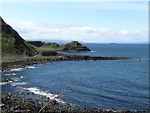 C9444 : Port Noffer, The Giant's Causeway, the Great Stookan and the Skerries from the path to Port Reostan by Eric Jones