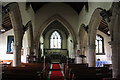 SK7243 : St.Wilfred's nave by Richard Croft